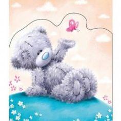 Tatty Teddy Open Card Bear and Butterfly