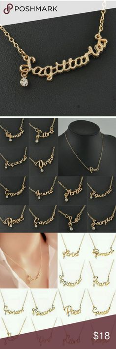 Sagittarius. Necklace Beautiful Brand New  Boutique Quality Necklace   Bundle Discount  Military Discount Available Jewelry Necklaces