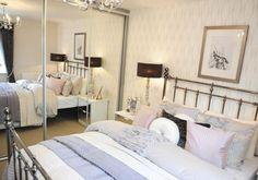 David Wilson Homes - The Larches (Offenham) - Mitchell design.  Interior Designed Guest Bedroom.