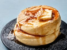 pancake recipe This Japanese Souffl Pancakes recipe gets its flavor from vanilla extract, lemon juice, and whole milk. Get the recipe from Food amp; Brunch Recipes, Wine Recipes, Breakfast Recipes, Cooking Recipes, Pancake Recipes, Pancake Breakfast, Mexican Breakfast, Crepe Recipes, Waffle Recipes