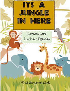 "This 102 page thematic unit, ""It's a Jungle in Here,"" is strategically linked to the Common Core Standards."