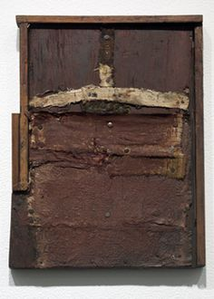 Hannelore Baron  Untitled (B-85026), 1985  Mixed media construction, 11 1/2 x 8 1/2 inches