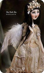 Artist: Christine Alvarado  Amazing clay art doll!