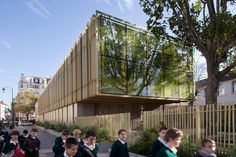 Gallery of Twin extentions of 2 elementay schools in Courbevoie / BP Architectures - 11