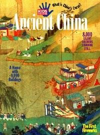 Learn all about Chinese dynasties, ancient Chinese society, and the Great Wall of China in Kids Discover Ancient China!