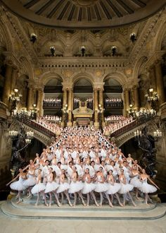 Ma vie á Paris: the Symphony Orchestra and Ballerinas of the Opera Ballet, photographed at Opera Garnier. I'm a proud patron of the Paris Opera and Ballet.