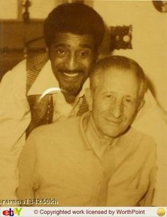 Carlo Gambino and Sammy Davis Jr