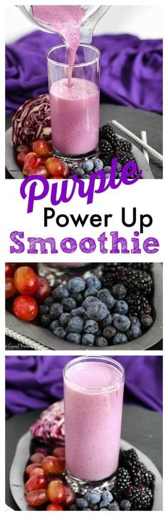 Paleo Purple Power Punch Smoothie (My Kids' Fave)
