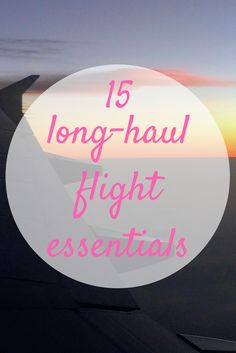 These 15 long haul flight essentials can make the difference between a comfortable long haul flight and hours of discomfort and frustration mid-air. Bus Travel, Train Travel, Packing List For Travel, Travel Tips, Travel Guides, Long Flights, Long Haul, What To Pack, Slimming World