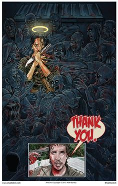 Thank You - The Walking Dead - episode poster - Kirk Manley