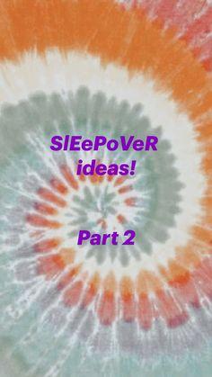 Teen Sleepover, Fun Sleepover Ideas, Sleepover Activities, Sleepover Party, Slumber Parties, Fun Activities, Diy Crafts For Girls, Diy Crafts Hacks, Amazing Life Hacks