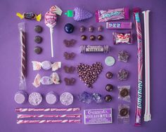 sweety pallets - purple