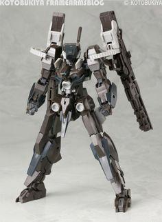 Bazerarudo artillery duel specification, coming soon! Image of | Kotobukiya Frame Arms blog