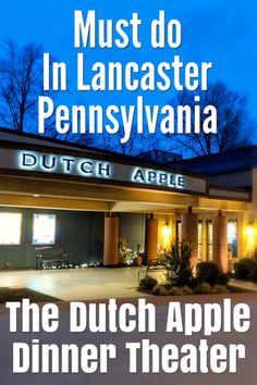 You gotta visit the awesome #DutchAppleDinnerTheater when you are in #Lancaster #Pennsylvania #travel #roadtrip #livetheater #music