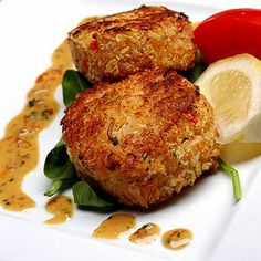 atkins crab cakes~~This Recipe is appropriate for Phases 2, 3,  4 of the Atkins Diet. Join Atkins today to sign up for your Free Quick-Start Kit including 3 Atkins Bars and gain access to Free Tools and Community, as well as over 1,500 other Free Atkins-friendly Recipes.