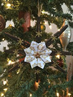 Clothespin Ornament