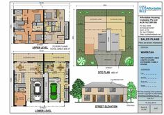 159.2P Marina Plus dual living occupancy extended family house plan ...