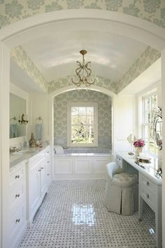 drop in tub with wood front or beadboard