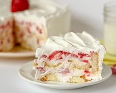 Make Strawberry Cheesecake Shortcake with strawberries, Twinkies and Cool Whip.
