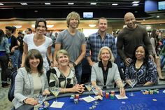 NCIS: LA cast and their moms. Fave moment of the show!