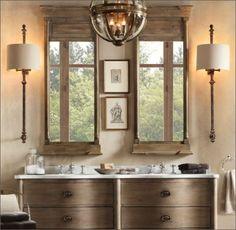 Trumeau mirrors