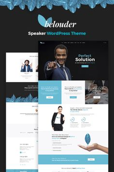 Belouder - Business & Service Responsive WordPress Theme #67196