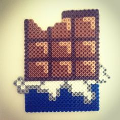Yummy chocolate perler beads by craftastic01