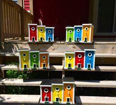 Bird Suet, Bird Feeders, Bird Houses Diy, House Ornaments, Grad Parties, Newfoundland, Jelly Beans, Rock Art, Artsy