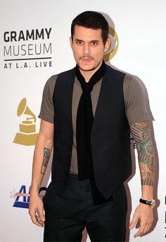 I love his tattoos!