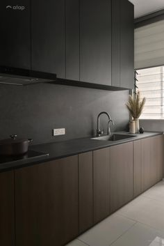 Cradleton Eco Majestic - Double Storey, Semenyih i. - Cradleton Eco Majestic – Double Storey, Semenyih i… – … Cradleton Eco Majestic – Double Storey, Semenyih i… – - Home Decor Kitchen, Kitchen Furniture, Home Kitchens, Black Kitchens, Kitchen Ideas, Modern Kitchen Design, Interior Design Kitchen, Black Interior Design, Modern Interior