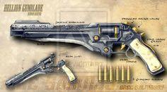 Hellion Gunblade by redrab8t on deviantART