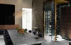 Poggenpohl concept de cuisine The Fourth Wall, en partenariat avec Electrolux Grand Cuisine.
