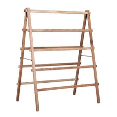Wooden Indoor Clothes Airer in Natural Finish Wooden Rack, Wooden Diy, Diy Wood, Outside Furniture, Wood Furniture, Retro Chic, Wooden Clothes Drying Rack, Clothes Racks, Horse Rugs