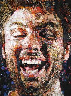 Environmental artist Tom Deininger upcycles junk.