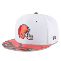 Cleveland Browns New Era Youth 2017 NFL Draft Official On Stage 59FIFTY  Fitted Hat - White 8ae13cc18