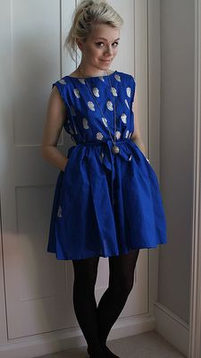 schwurlie: Easy summer dress tutorial