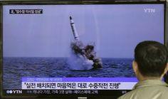 Северна Кореја тестирала балистичку ракету испаљену са подморнице, САД позивају на уздржаност  САД су данас позвале Северну Кореју да се суздржи од предузимања акција које распирују напетости у региону, пошто су државни медији известили да је та земља испроба�