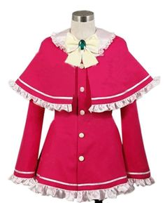 Relaxcos Tantei Opera Milky Holmes Girls Uniform Cosplay Costume *** Continue to the product at the image link.