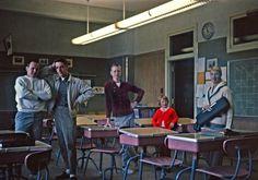 College Classroom - Vintage College Photographs