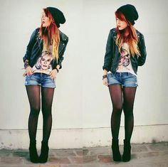 Red and Blonde Ombre - Doing this to my hair in the next couple weeks. :)