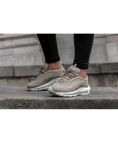 Nike Air Max 97 Trainers In Cobblestone Shoes Trainers Nike 1695c236bc