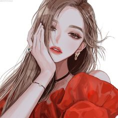 Fashion girl background ideas for 2019 Cool Anime Girl, Pretty Anime Girl, Beautiful Anime Girl, Kawaii Anime Girl, Anime Art Girl, Anime Guys, Manga Girl, Korean Anime, Girl Background