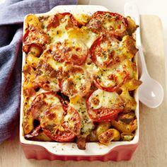 14 juni - Mozzarella in de bonus - Recept - Ovenpasta met groenten - Allerhande