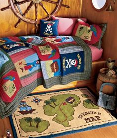 Perfect Pirate Bedroom For A Little Boy For The Kids