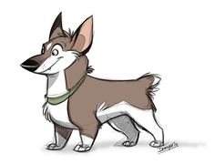 Corgi Fun Thing by *Daemonysh on deviantART   ★ || CHARACTER DESIGN REFERENCES™ (https://www.facebook.com/CharacterDesignReferences & https://www.pinterest.com/characterdesigh) • Love Character Design? Join the #CDChallenge (link→ https://www.facebook.com/groups/CharacterDesignChallenge) Share your unique vision of a theme, promote your art in a community of over 50.000 artists! || ★