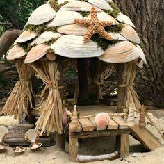 """Résultat de recherche d'images pour """"fairy house made out of shells"""""""