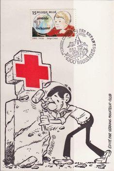 Belgium - Red Cross Postcard, 1993.