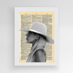Instant download Lady Gaga Joanne Digital print by photoplasticon