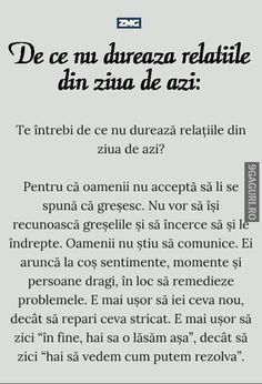 De ce nu durează relațiile The Words, Cool Words, Motivational Words, Inspirational Quotes, Deep Questions, Just You And Me, Sweet Words, Words Of Encouragement, Poetry Quotes