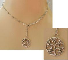 Silver Celtic Tree of Life Pendant Necklace Jewelry Handmade NEW Adjustable #handmade http://www.ebay.com/itm/151752655222?ssPageName=STRK:MESELX:IT&_trksid=p3984.m1555.l2649